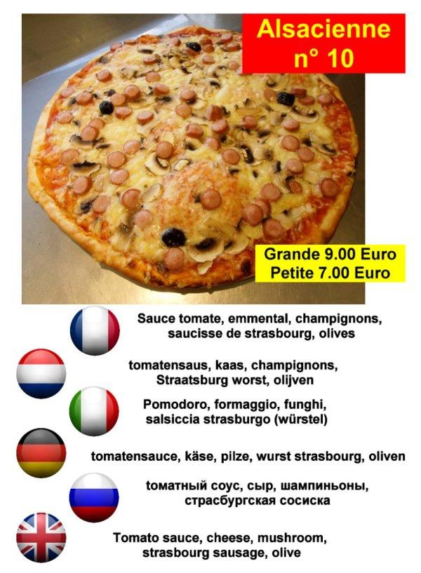 les meilleurs pizza à Briancon serre chevalier