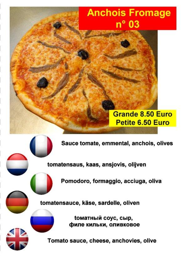 Pizza villeneuve La Salle
